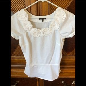 The limited white blouse size small